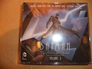 BATMAN-ANIMATED-SERIES-Original-TV-soundtrack-CD-Volume-3-4CD-SET-DANNY-ELFMAN