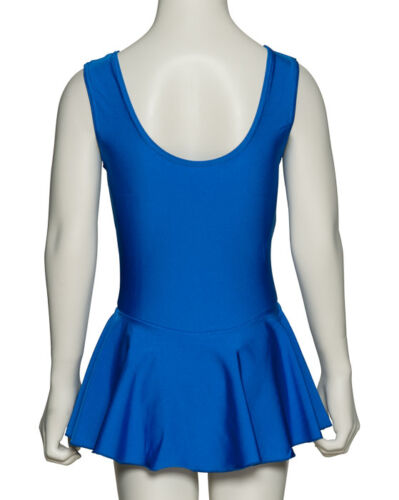 Nylon Lycra Ballet Dance Leotard With Skirt All Colours /& Sizes KDR005 By Katz