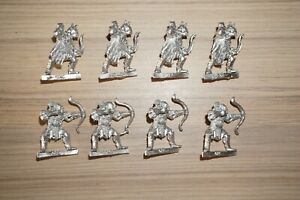 Warhammer-LOTR-Lord-Of-The-Rings-Mordor-Orc-Archers-with-Bow-x-8-Metal