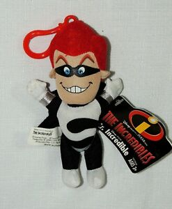 "NEW WITH TAGS 9/"" DISNEY PIXAR 2004 THE INCREDIBLES SYNDROME PLUSH"