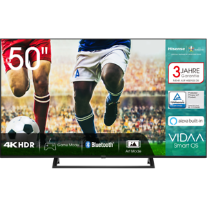 Hisense 50AE7200F 4K/UHD LED Fernseher 126 cm [50 Zoll] Smart TV HDR Schwarz