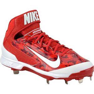 buy online efb58 9305e Image is loading 95-Nike-Air-Huarache-Pro-Mid-Metal-Baseball-