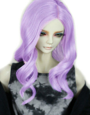"7-8/"" 1//4 BJD Doll Straight Medium Long Wig Hair Golden Brown Smooth UAL-e"
