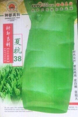 Fresh Organic Oriental Asian Celtuce Asparagus Stem Seeds  2020 200