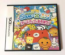 USED Nintendo DS San-X Dream Land Theme Park De Asobou JAPAN import Japanese