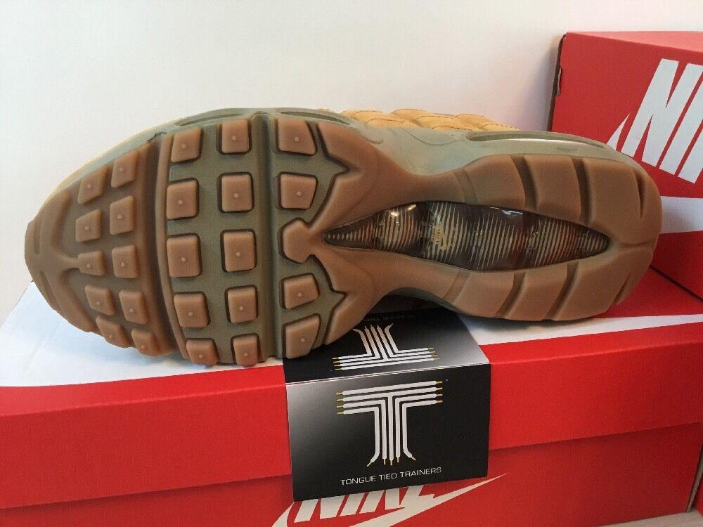 Nike Air Max 95 HIVER    880303 700  Royaume-Uni Taille 4  Euro 37.5 29072a