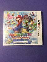 Mario Party Island Tour First Print White Case (3ds)