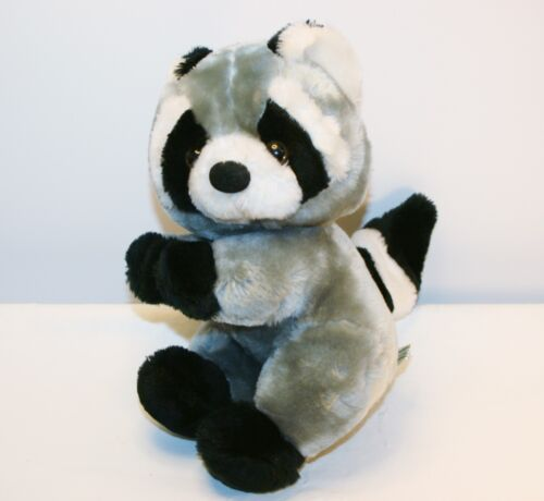 Vintage Plush Raccoon Stuffed Animal Toys Inc 1986 Good Condition 11""