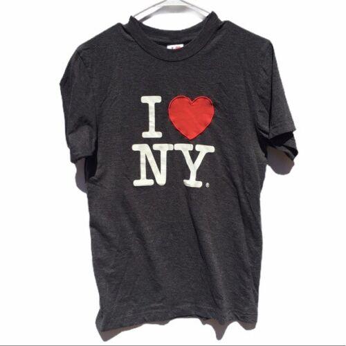 T-Shirt I love New York heathered charcoal Medium