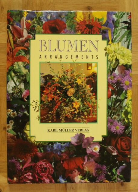"""Buch, Ratgeber """"Blumenarrangemants"""", WIE NEU!"""