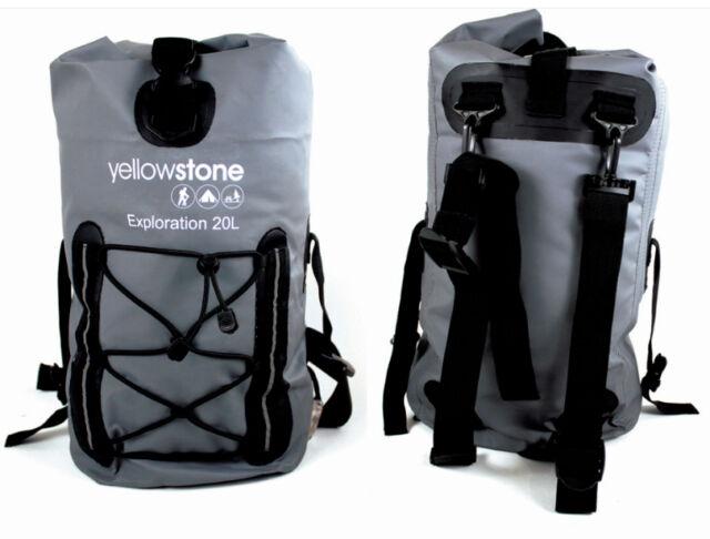 Ocean Dry Pack Bag Day Waterproof Water Proof Kayake Rucksack Grey 20L 20 Litre
