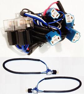 pontiac wiring harness ebay    pontiac    headlight relay    wiring       harness    4 head lamp extra     pontiac    headlight relay    wiring       harness    4 head lamp extra