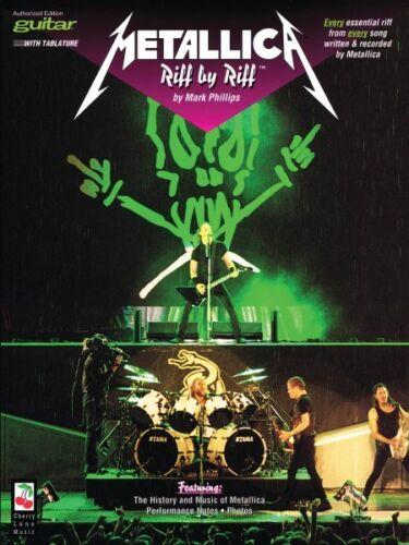 Metallica Riff by Riff Guitar Guitar Educational NEW 002506313