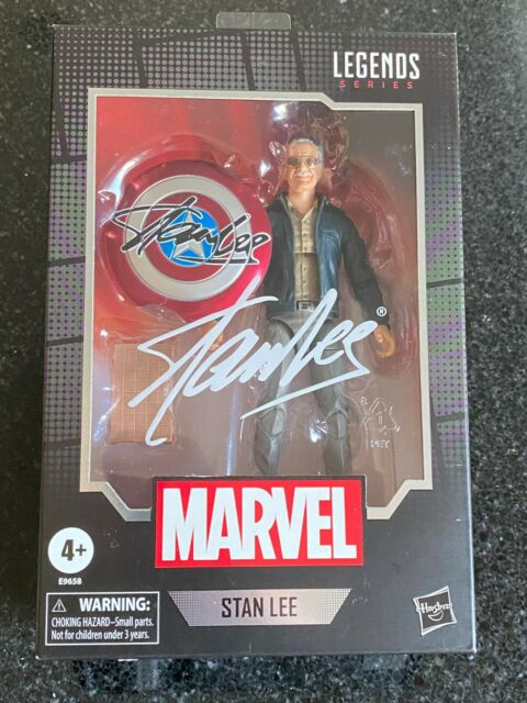 """Marvel Legends Series STAN LEE 6"""" Action Figure From AVENGERS CAMEO Hasbro 2020"""