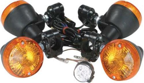 ATV UTV Universal Quad Turn Signal Kit w// Switch Great for Added Safety New