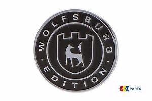 NEW-GENUINE-VW-TOUAREG-SIDE-WOLFSBURG-EDITION-BADGE-EMBLEM-561853688DYMS