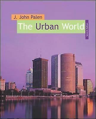 The Urban World, Palen, J. John, Used; Very Good Book