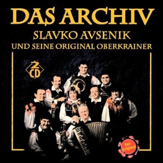 SLAVKO AVSENIK UND SEINE ORIGINAL OBERKRAINER - DAS ARCHIV 2 CD NEU