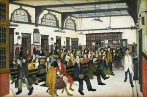 Lowry-Ancoats-Hospital-PICTURE-PRINT-CANVAS-WALL-ART-FRAMED-20X30INCH
