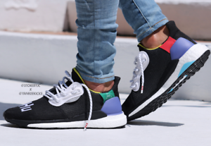 premium selection df539 80687 Adidas x Pharell Williams solaire Hu Glide ST ultraboost UK9.5 UK9.5 UK9.5  US10.5 Noir 77d152