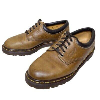 vintage 90s dr martens men's 8 leather lace up oxford shoe