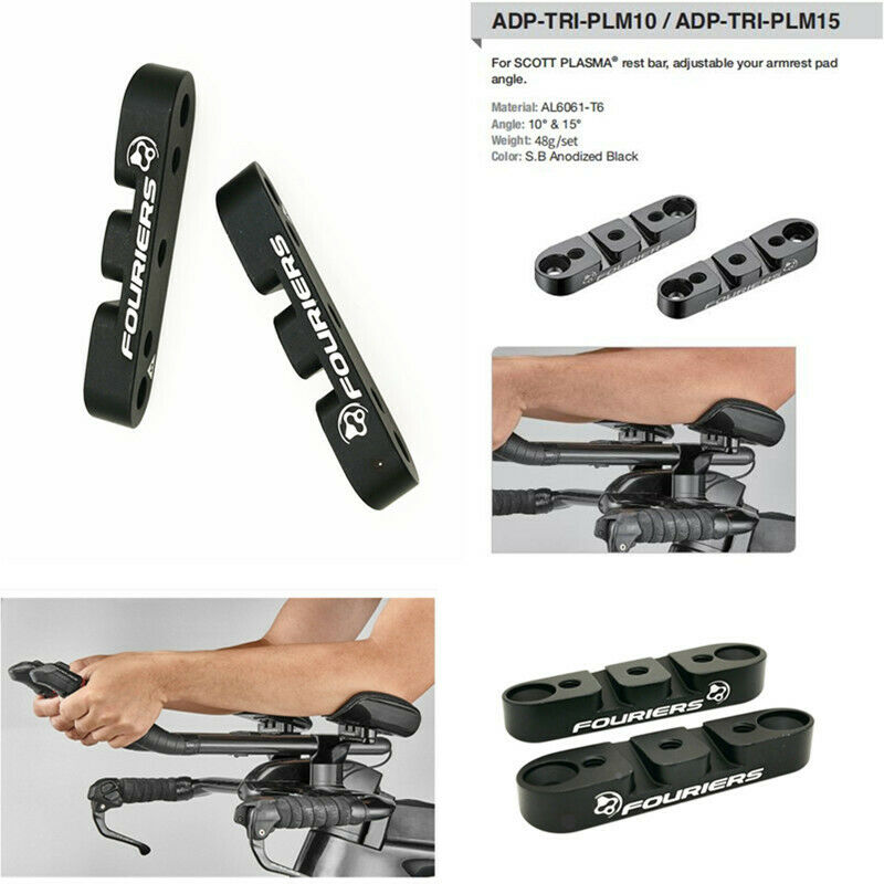 TT Helebar adjustable your armrest pad angle For SCOTT PLASMA rest bar