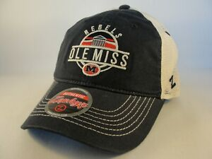 Ole Miss Rebels NCAA Zephyr Trucker Snapback Hat Cap