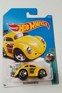 Hot-Wheels-Diecast-Volkswagen-Beetle-Yellow-NEW