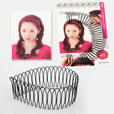 New Professional Hair Styling Tool Curve Pin Invisible Clip Black Bang Fringe
