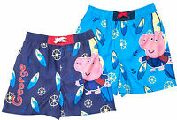 Boys Official Mesh Lined George Pig Surfer Swim Beach Shorts 4 to 8 Years Pool