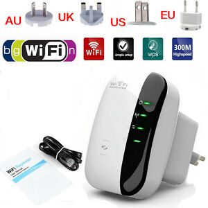300Mbps-802-11-Wireless-N-Wifi-Repeater-AP-Router-Signal-Booster-Range-Extender