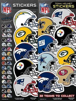 NFL Team Helmet Football Sticker