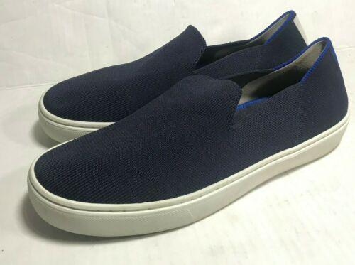 Rothys The Sneaker Slip On Womens Shoe 8 Navy Flat