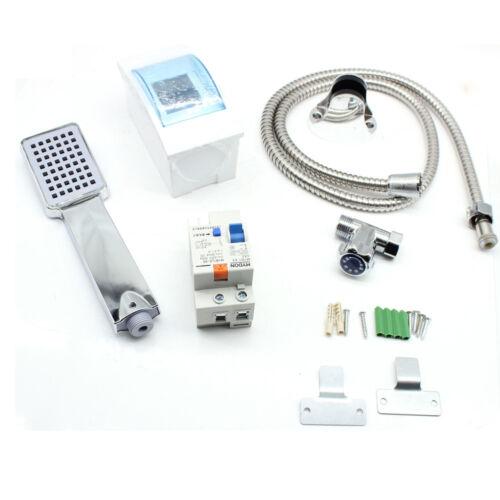0-55℃ Elektrisch Durchlauferhitzer Untertisch Druckfest Tankless Warmwasser 220V