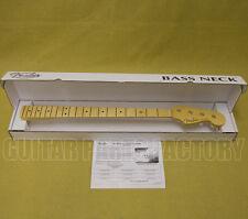 099-3702-921 Fender USA Jazz Bass® Neck Maple C Fingerboard 9.5 Radius Med Jumbo