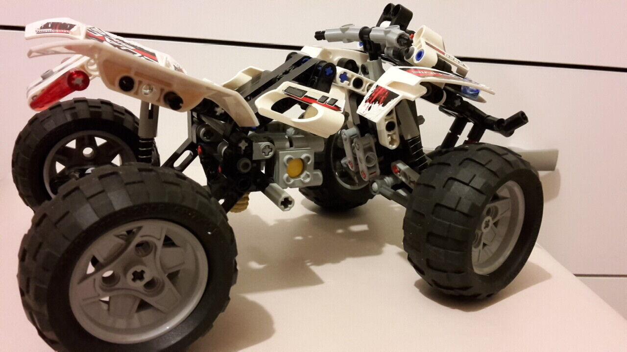 LEGO TECHNIC QUAD - BIKE BIKE BIKE SET 8262 c6d2bb