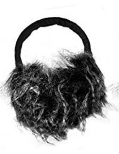 Fluffy Winter Earmuffs Ear Warmer Ear Muffs Grey//Black
