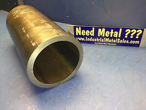 "4-1/2"" OD x 3-1/2 ID x 24""-Long x 1/2"" Wall Steel Seamless Steel Round Tube-->"