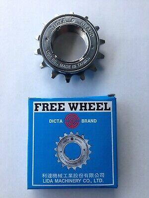 Vélo Bike Freewheel DICTA Vitesse Unique 18TH 1//2 x 1//8 Chrome Vélo de montagne route