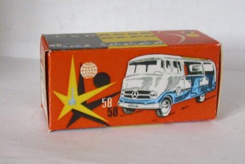 Repro box tekno Nº 852 MERCEDES expo Express