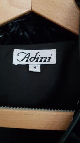 Adini Pattern Silke Velvet Jacket Willow Small Sort r4HqE6war