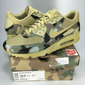 premier taux 9ee41 eb9e5 Details about Nike Air Max 90 Italy Size 10.5 hyp sp green camo 596529 320  safari black 1 95 0