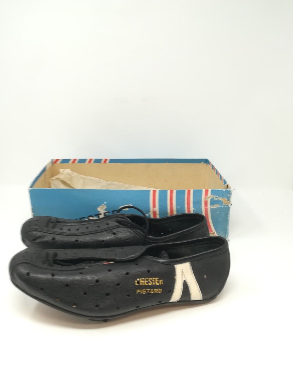 Vintage shoes ciclismo cycling shoes   39 NOS  Chester Pistard