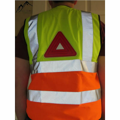 HORSE AND RIDER ENHANCED SAFETY VEST HIGH VIS EQUESTRIAN REFLECTIVE SAFETY NIGHT