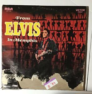 From Elvis In Memphis Vinyl LP 1969 Elvis Presley RCA LSP-4155