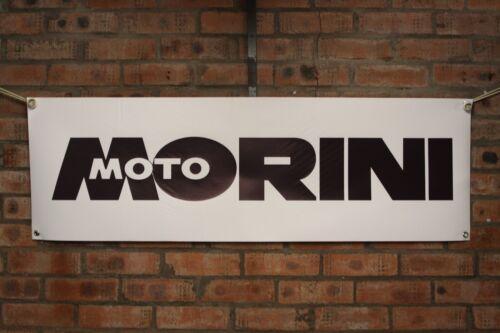 Moto Morini 500   work shop banner large pvc banner