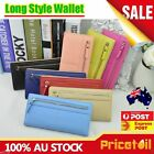 2015 Women Biofold Wallet Lady Card Coin Holder Long Wallet Clutch Zipper Purse