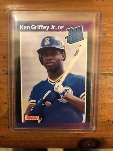 Details About 1989 Ken Griffey Jr Donruss Rated Rookie Card 33