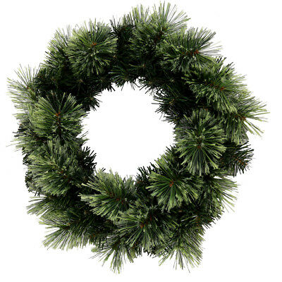 Christmas Cashmere Wreath - Green
