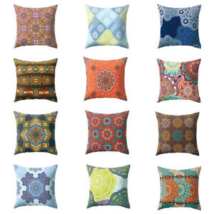 Am-CO-Colorful-Flower-Peach-Skin-Decorative-Throw-Pillow-Case-Cushion-Cover-My